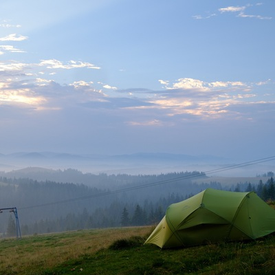 The Carpathians in August